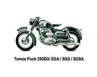 Tomos Puch 250 SG/SGA/GS/SGSA